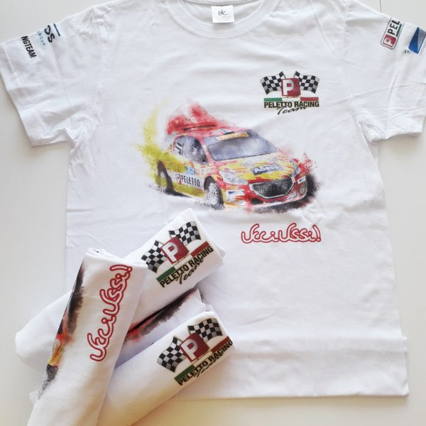T shirt Peletto Racing Team e Ucci Ussi